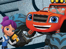 Blaze and the Monster Machines Tune Up