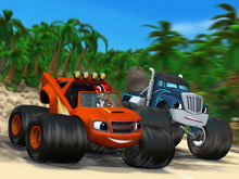 Blaze Monster Truck Find Objects