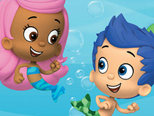 Bubble Guppies Gil and Molly Puzzle