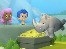 Bubble Guppies The Lonely Rhinoceros