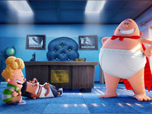 Captain Underpants Find Objects