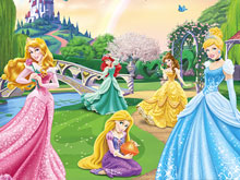 Disney Princess Find Objects