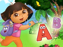 Dora's Alphabet Forest Adventure