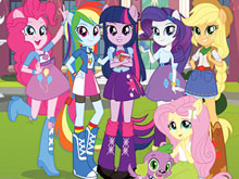 Equestria Girls Find Differences