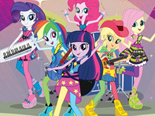Equestria Girls Find Objects