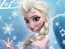 Gorgeous Frozen Elsa