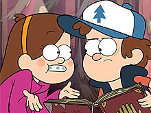 Gravity Falls Mabel and Dipper