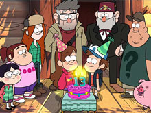 Gravity Falls Mistery