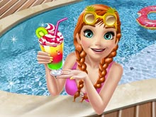 Ice princess Pool Party