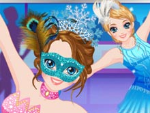 Ice Skater Princess Dressup