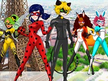Ladybug and Cat Noir Maker