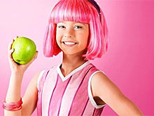 Lazy Town Stephanie