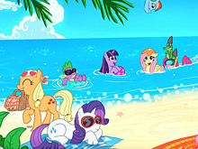 My little Pony Sea Beach Puzzle