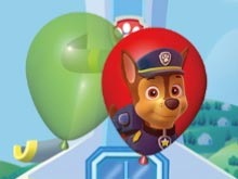 Paw Patrol Balloon Pop