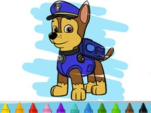 Paw Patrol Colour In