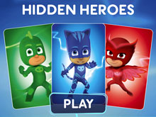 PJ Masks Matching Cards
