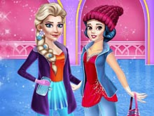 Princess Winter Activities