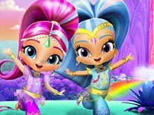 Shimmer and Shine: Rainbow Waterfall Adventure