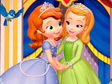Sofia The First and Amber puzzle