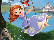 Sofia the First Swing Puzzle