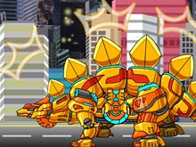 Stego Gold Dino Robot Plus