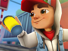 Subway Surfers Jake Puzzle
