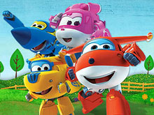 Super Wings Puzzle Jet and Friends