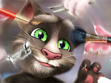 Talking Tom Makeup