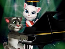 Talking Tom Piano Time