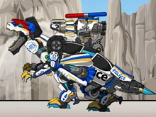Tyrabo Double-Cops - Transform! Dino Robot