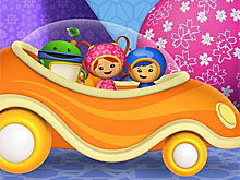 Umizoomi in Car
